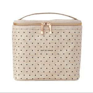 Kate Spade Out to Lunch Insulated Canvas Tote